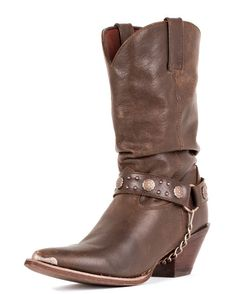 """Put on your BOOTS, BABY!   Women's 11"""" Crush Slouch-i-tude Boots - Chocolate"""