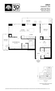 sight-line to balcony from entry, reading/tv nook separate from living area, corner unit with wrap around windows, opt out of the island and get a great harvest table instead. love the lines of this unit, has great potential