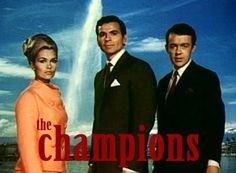 the champions was a uk tv series | Retro | Pinterest
