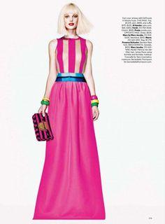 Patricia van der Vliet by Richard Burbridge for Harper's Bazaar US April 2011-6