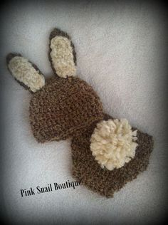 Perfect for Easter. Can be made in any color/type of yarn. By Pink Snail Boutique