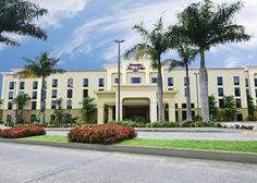 Hampton Inn San Jose-Airport Hotel, Alajuela, CR Thrifty & Economy Car Rental across the street | Budget down the street