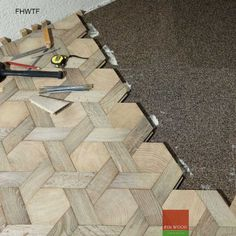Fitting Hexagon Wood Tiles floors: traditional wood flooring is made of planks or block sawn lengthwise. The end-grain flooring on the other.