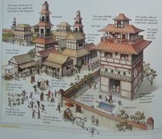 Ch' ang-an the capital city of the Early Han Emperors