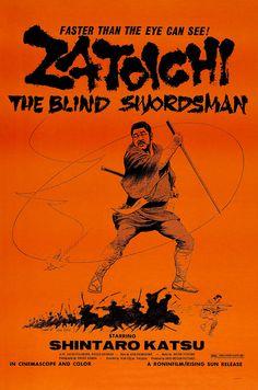 robotcosmonaut:  Zatoichi - The Blind Swordsman