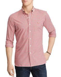 Polo Ralph Lauren Plaid Cotton Clasic Fit Button-Down Shirt
