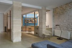 paris-loft-renovation-living-area-columns