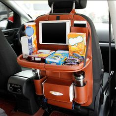 Certification: ENModel Number: IQ0078Brand Name: WELEBAOAge Range: 3TType: Seat OrganizerMaterial: Faux leather