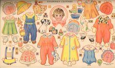 Paper Dolls~Quintuplets - Bonnie Jones - Picasa Web Albums