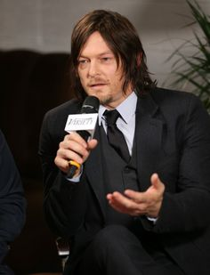 Norman Reedus Takes Us Inside His Walking Dead Trailer — Breast Implants, Whips, and More