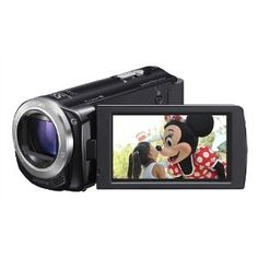 #10: Sony HDR-CX260V High Definition Handycam 8.9 MP Camcorder with 30x Optical Zoom and 16 GB Embedded Memory (Black) (2012 Model).