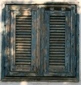 Picture of image of antique wooden windows as background stock photo, images and stock photography. Old Wooden Shutters, Rustic Shutters, Wooden Windows, Rustic Doors, Old Windows, Outside Shutters, Window Shutters, My Ideal Home, Primitive Homes