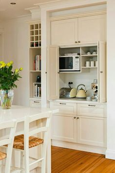 Uplifting Kitchen Remodeling Choosing Your New Kitchen Cabinets Ideas. Delightful Kitchen Remodeling Choosing Your New Kitchen Cabinets Ideas. New Kitchen Cabinets, Kitchen Redo, Kitchen Appliances, Kitchen Pantry, Small Appliances, Kitchen Counters, Pantry Cupboard, Cupboards, Corner Cabinet Kitchen