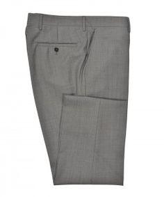 Grey Sharkskin Trousers