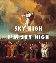 Feels good to be back home baby! The Ascension (1775), John Singleton Copley / Touch The Sky, Kanye West ft. Lupe Fiasco Happy Easter Sunday from us at Fly Art!