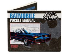 Mighty Wallet - Batmobile - I've had a few of these wallet now. They're light weight, thin, and virtually indestructible.