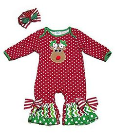 Peaches 'n Cream Baby Girls Red Dots Christmas Reindeer Face Romper with Headband (0-3 months) Peaches 'n Cream http://www.amazon.com/dp/B00NMXB48O/ref=cm_sw_r_pi_dp_sSDuub1D7EFY8