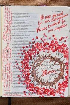 Image result for christ marvelled bible journaling