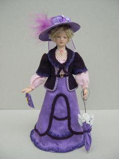 Miniaturas para casa de muñecas, escala 1/12, muñeca de porcelana de Cantimpalominiaturas en Etsy