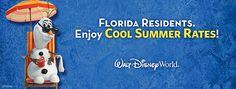 Florida Residents can enjoy cool summer rates at Walt Disney World® Resort – from $107 per night, plus tax, at Disney's All-Star Music Resort.