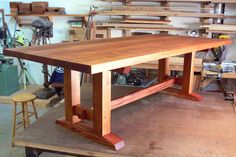 Offerman Woodshop » Mahogany Dining Table
