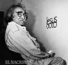 Jesús Soto, artista plástico, pintor, escultor, representante del arte cinético.   Foto: Colección Archivo. /El Nacional/. 23-01-1992