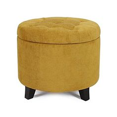 "2015 Oct. NEW!! Adeco Microfiber Flannelette Fabric Cushion Round Button Tufted Lift Top Storage Ottoman Footstool, 19-20"", Dark Goldenrod, http://www.amazon.com/dp/B016E8OPYI/ref=cm_sw_r_pi_awdm_x_6if1xbRPG7XQ7"