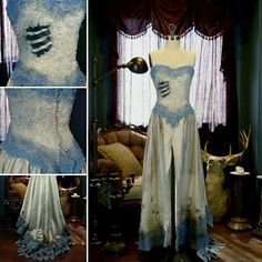 Corpse Bride cosplay costume just added! One only!