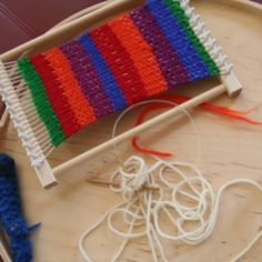 People often complete small weaving projects as children, but never revisit the craft. This page offers weaving lessons for use with both cardboard and wooden looms, plus many DIY project tutorials.