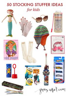 Stocking Stuffer Ideas for Kidsj (and men and women)