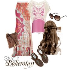 I could never pull off the boho look without looking like a baglady. #lesigh