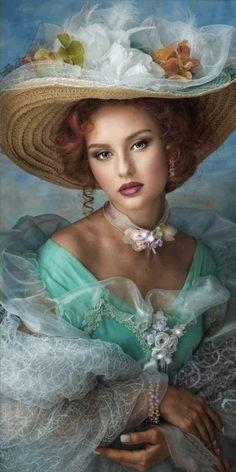 Beautiful Gif, Beautiful Girl Image, Simply Beautiful, Beautiful Women, Vintage Photos Women, Vintage Ladies, My Fair Lady, Fine Art Photo, Female Art