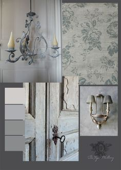 The Paper Mulberry: Grey romantic
