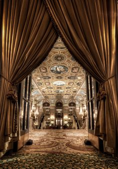 Stay at The Palmer House Hilton, Chicago