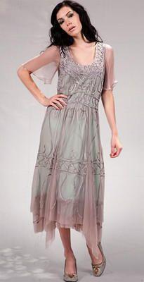 Aqua and lavender. 40114 Nataya Lavender/Aqua Dress $198