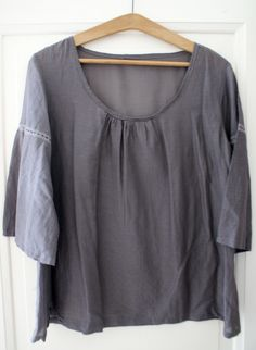 Blouse B du stylish dress book - Cuffs left without gathering (change from pattern)