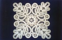 Bobbin tape lace example