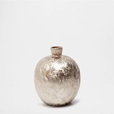 GOLDEN CERAMIC VASE - Vases - Decoration | Zara Home United States of America