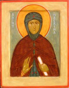 St. Macrina by Ann Margitich
