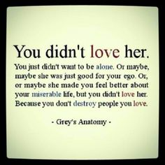 never actually watched Grey's Anatomy, but geeeez louise this kicked me right in the heart.