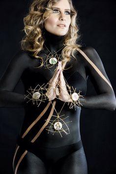 Jewelry Handmade www.georginadoumat.com Metalsmith/goldplated