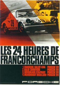 Carteles de carreras. 100 años de publicidad Le Mans, Vintage Race Car, Motor Car, Rally, Lamborghini, Ferrari, Porsche 911 Rsr, Porsche Cars, Ferdinand Porsche