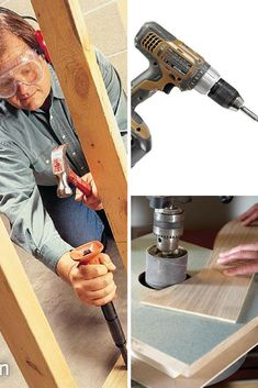 Power Tools: Learn to use your power tools safely and learn tricks to get better results. Read more: http://www.familyhandyman.com/tools/power-tools