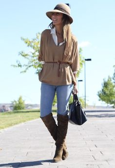 15 Winter Outfits With Brown Boots - Fashion Diva Design