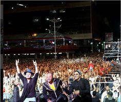 El grupo Treo brindo un show de lujo anoche en nuestro concierto de cierre.... Gracias Venezuela batimos records con más de 1.183mil visitas en este Suena Caracas hasta el 2015