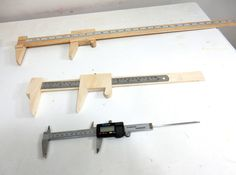 More homemade tool fun with a clever set of wooden shop calipers.