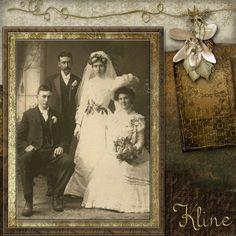 Heritage Wedding Scrapbook Layouts   Wedding Fashion - Digital Scrapbook Place Gallery