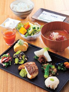 Japanese breakfast in Kyoto