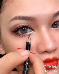 Smoke Eye Makeup, Eyebrow Makeup Tips, Korean Eye Makeup, Makeup Tutorial Eyeliner, Makeup Eye Looks, Eye Makeup Steps, Eye Makeup Art, Natural Eye Makeup, Contour Makeup