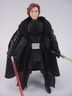 Custom Star Wars Jacen Solo/Darth Caedus 3.75in figure jedi sith mandalorian EU | eBay